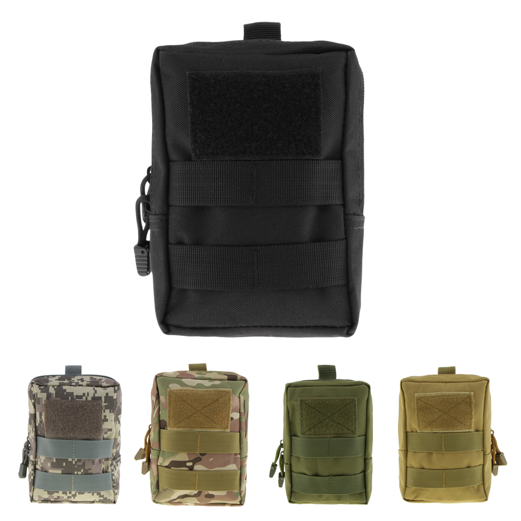 Multipurpose Waist Pouch Bag Molle Utility Tactical Accessory Bag