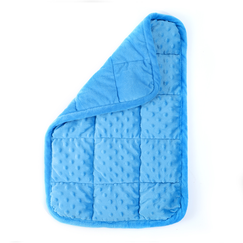 Weighted Lap Pad for Kids Adults Sensory Calmness Weighted Blanket 36x56cm Deep Pressure Touch Therapy Tool for Autism