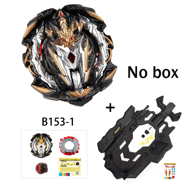 Tops Burst Launchers Beyblades GT Toys B-155 B-153 B-154 Burst Toupie Bayblades metal fusion God Spinning Tops Bey Blades Toy