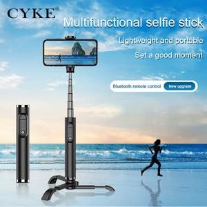 Image 3 - New wireless Bluetooth selfie stick detachable Bluetooth remote control independent detachable tripod portable selfie stick
