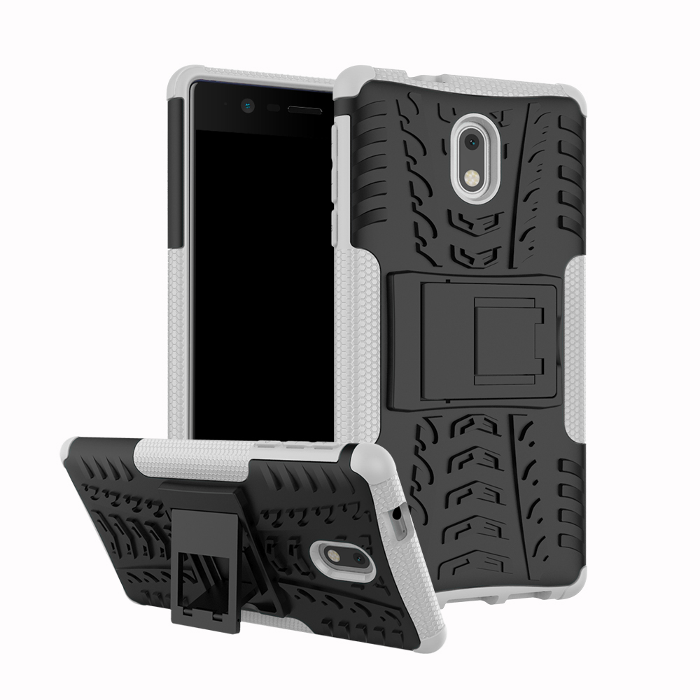 Armor Phone <font><b>Case</b></font> For <font><b>Nokia</b></font> 1 2 3 5 6 8 <font><b>3.1</b></font> 6.1 7.1 5.1 6.1 7.1 2.1 X7 X6 X5 Plus 2018 Shockproof <font><b>Hard</b></font> Rubber Protective <font><b>Case</b></font> image