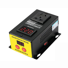 AC 220V High Power 10KW Controller Electronics Voltage Organ Electric Machinery Fans Variable Speed Controller 10000W 1pcs ac 230v 6 4 a ac 120v 12 6 a 5e4 electric power tool plastic speed controller switch fa 8 1fe 6 positions color randomly