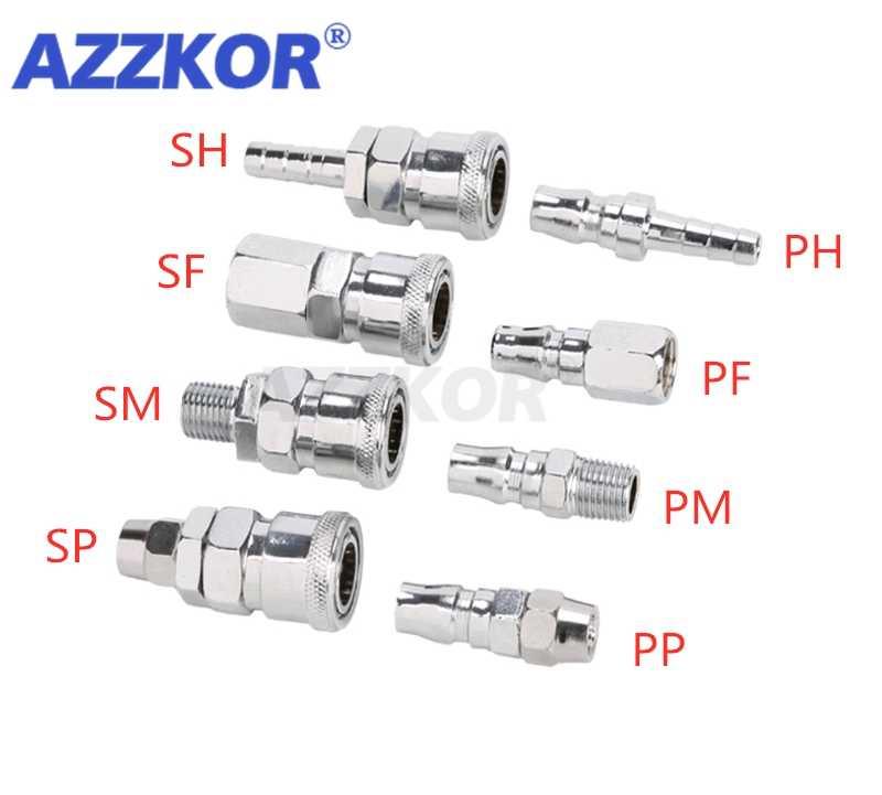 PM SM C tipi kendinden kilitleme hızlı bağlantı hava borusu hızlı fiş ortak hava kompresörü PU boru pnömatik uydurma 20 30 40