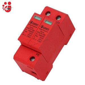 Image 1 - SPD DC 1000V 800V 500V 20KA 40KA 2P House Surge Protector Protective protection din rail Low voltage Arrester Device