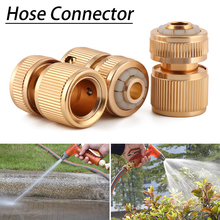 1PC Garden Brass Quick Connector 1/2