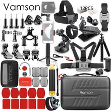 Vamson conjunto de accesorios para Gopro hero 9, 8, 7, 6, 5, montaje para SJCAM, DJI, Osmo Action, yi 4k, eken h9, VS84
