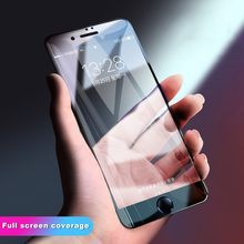 2pcs/Lot Full Cover 3D Edge Tempered Glass For iPhone 11 Pro XS MAX X XR 7 8 6 6s Plus Screen Protector Film Protection(China)