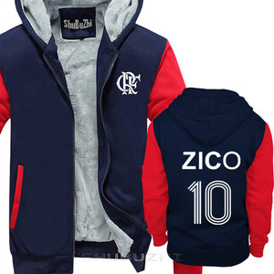Image 4 - ZICO thick jacket BRAZIL FLAMENGO UDINESE FOOTBALLER LEGEND CAMISETA SOCCERER KASHIMA Men warm coat euro size sbz5100