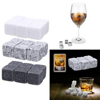 6 sztuk kamienie do Whisky s naturalne kostki lodu do whiskey kamienie do Whisky chłodziarka do Whisky Bar wino bryłka lodu kamienie do Whisky s prezent ślubny Bar dostaw tanie i dobre opinie Hypmark Chłodnic wina i agregatów Ce ue Other Ekologiczne Zaopatrzony whisky stones