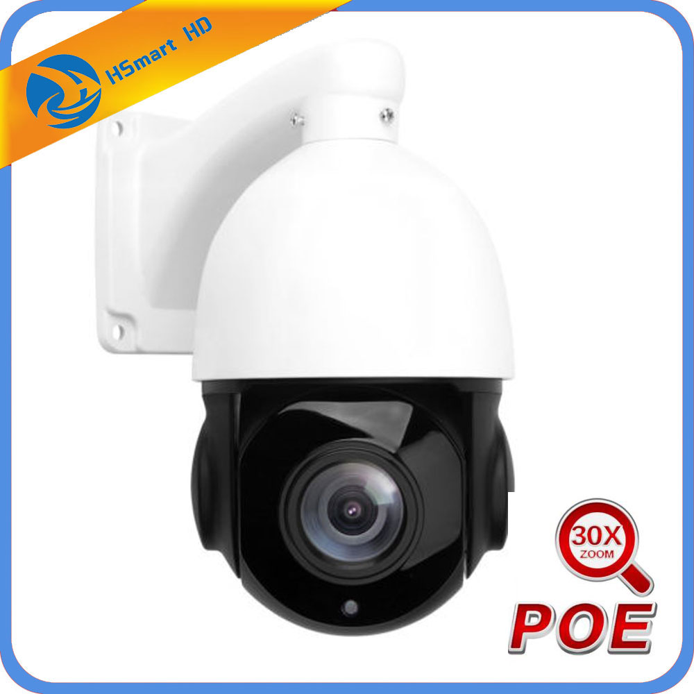 3MP PTZ IP Camera POE 5MP Super HD 30x Zoom Speed Dome Cameras H.264/H265 Compatible With Xmeye 48V POE NVR System