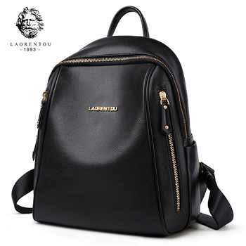 LAORENTOU Brand Women Backpack Large Capacity Lady Solid Bag School Bag for Teenage Large Capacity Multifunctional Bag - Category 🛒 Luggage & Bags