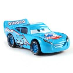Disney Pixar Cars 3 Lightning McQueen blue Mater Jackson Storm Ramirez 1:55 Diecast Vehicle Metal Alloy No.95 Boy Kid Toys Gift