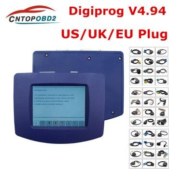 Newest Digiprog III V4.94 Digiprog 3 Odometer Programmer Digiprog3 FTDI Car Mileage Adjustment Tool Digi Pro 3 Full Set Cables