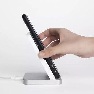 Image 3 - Xiaomi Mi luftgekühlten Drahtlose Ladegerät 30W/55W Max 19V Gelten Flash Lade Qi Stehen horizontale für Xiaomi Mi9 Mi 10 pro iPhone
