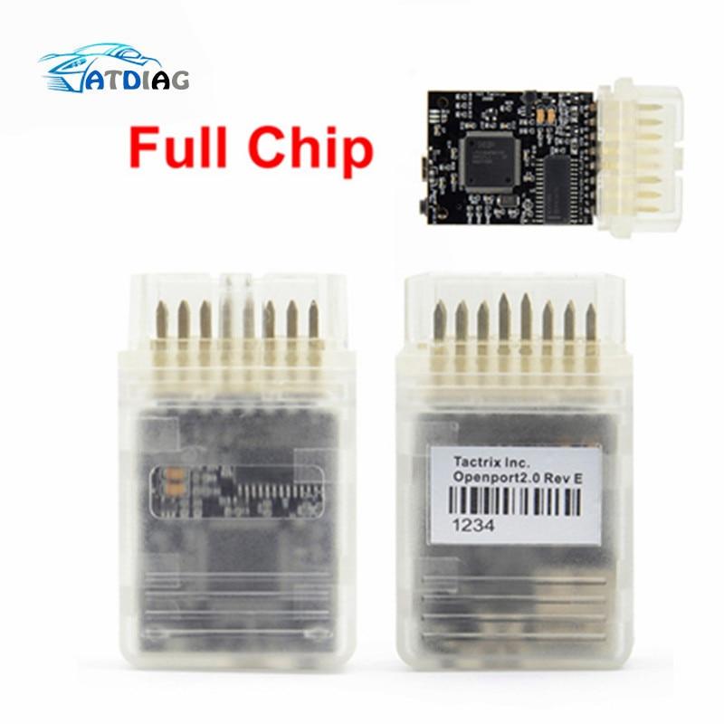 Tactrix Openport 2 0 ECU Chip Tuning Tool ECU FLASH OBD2 Cable Open Port 2 0 ECU FLASH Tool With All SW