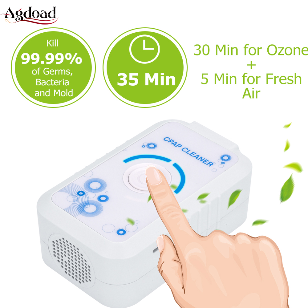 CPAP Cleaner Ventilator Disinfector Sleep Aid Sanitizer Sterilizer Machine Cleaning Kit For Tube And Mask