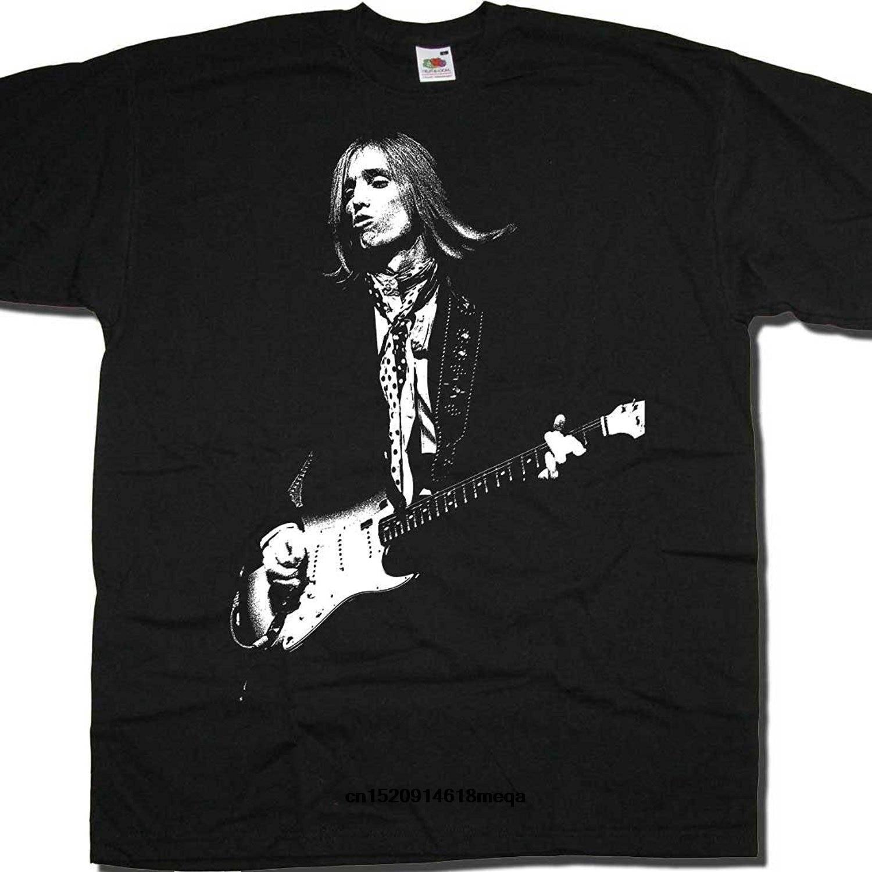 New T Shirt Tom Petty On Stage Picture By Old Skool Hooligans Men's Fashion T-shirt Xxxtentacion Streetwear Harajuku Men T Shirt