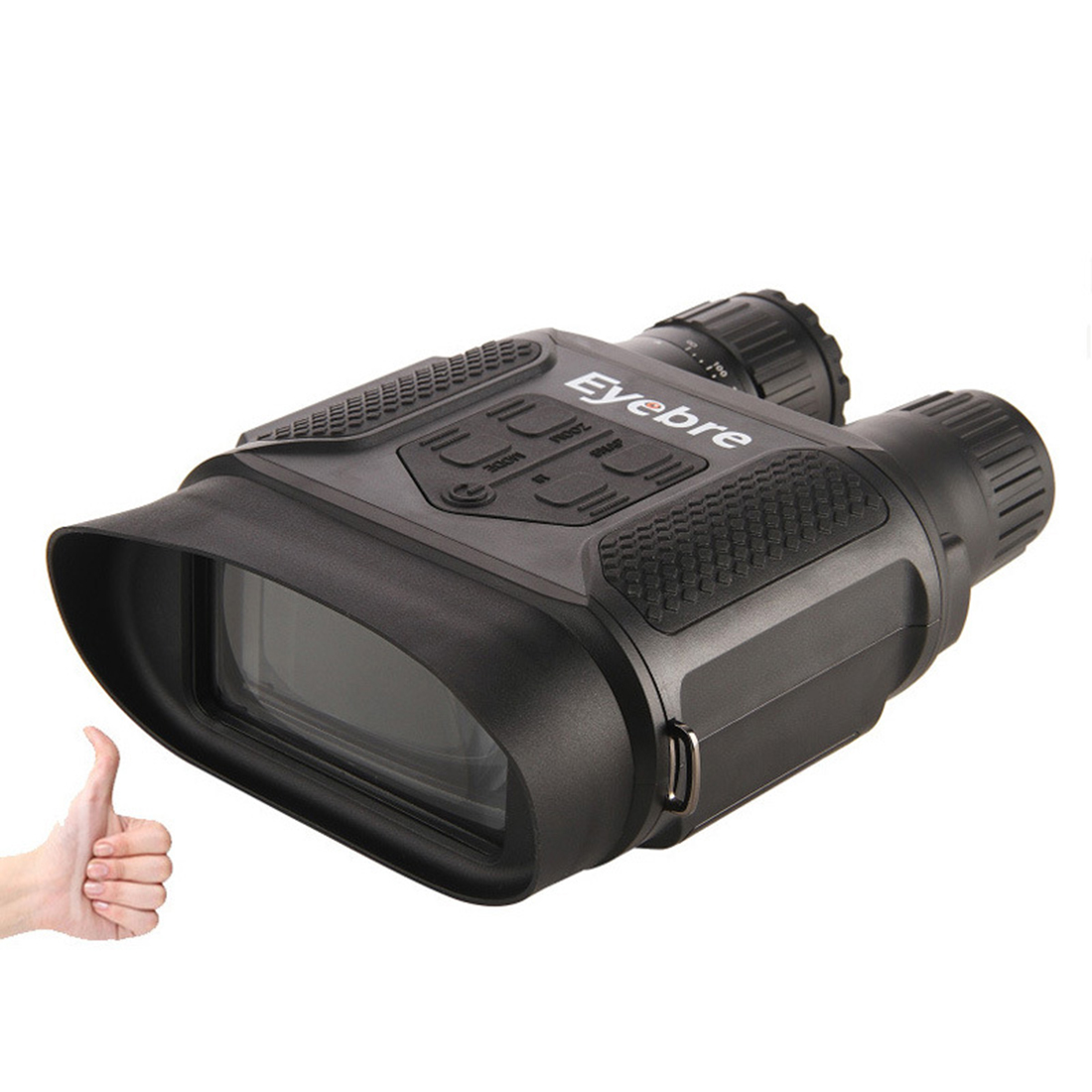 Eyebre HD Large Screen Night Vision Digital Binoculars Night Vision Device - Black