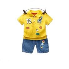 Летняя одежда для маленьких девочек и мальчиков; Детская одежда;