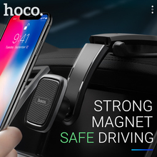 hoco phone holder car mount stand magnetic smartphone grip in mini magnet universal for iphone samsung xiaomi