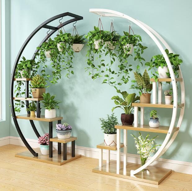 New living room household flower shelf multi-layer indoor special price economic balcony decoration shelf