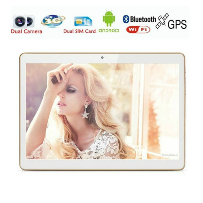 10.1 Inch  4G LTE Tablet Pc Quad Core 6G RAM 128GB ROM Dual SIM Cards 5.0M 1280*800 IPS 4G Phone Call  Tablets For Kids Android