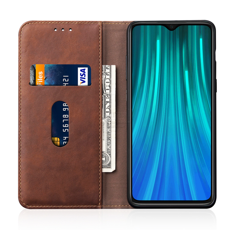 Hd12c74ffbafe43d9afadbdbb3cde3d68D Luxury Retro Slim Leather Flip Cover For Xiaomi Redmi Note 8 / 8T / 8 Pro Case Wallet Card Stand Magnetic Book Cover Phone Case