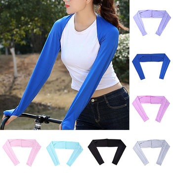 1Pair Bicycle Fishing Sleeve Cover Sun Protection Arm Guard Cooling Sleeve Cover UV-resistant men's sleeve sports Cycling gloves daiwa performance fishing shirt men upf 50 uv sun protection long sleeve quick dry mesh cooling rash guard fishing clothes