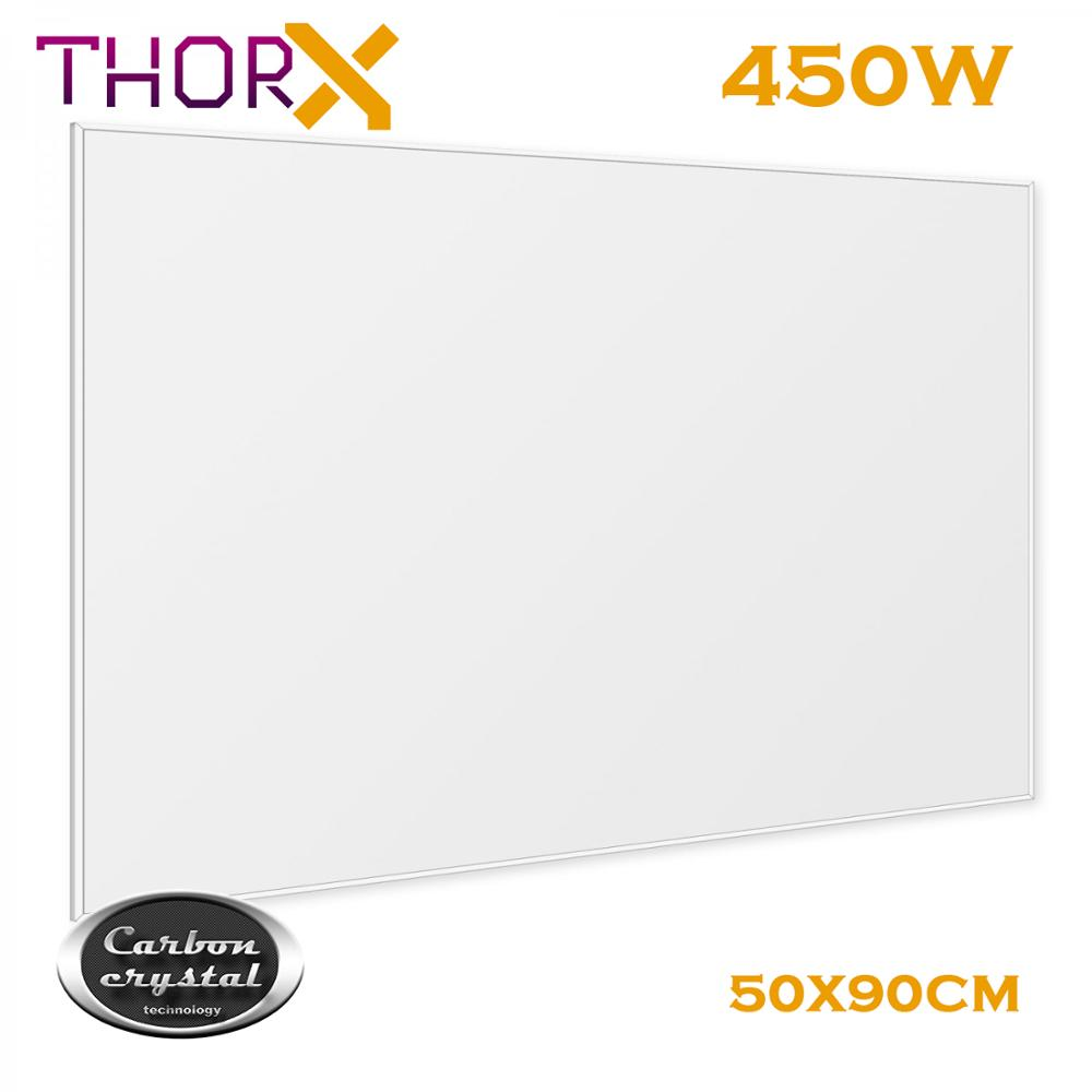 ThorX K450 450 Watt 50*90 cm Infrared Heating Panel Heater With Carbon Crystal Technology LED Panel Lights     - title=