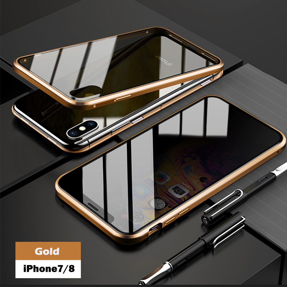 for iPhone 7 8 gold