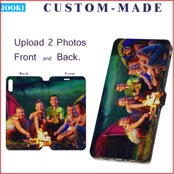 custom Phone Wallet Cover for Xiaomi Redmi Note 4X customized logo silicone card case phone Coque Note 4 Global Ver Note4X Note4