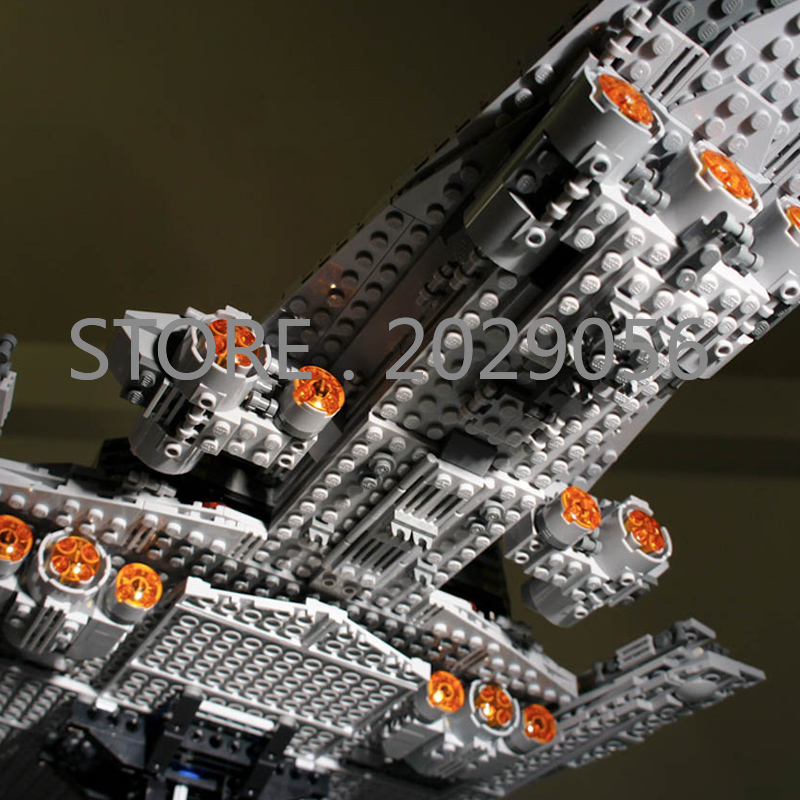 05028 In Stock The Super Star Destroyer Star Movie Wars Series 3125PCS Model Building Blocks Compatible 10221 Children Toys - 4