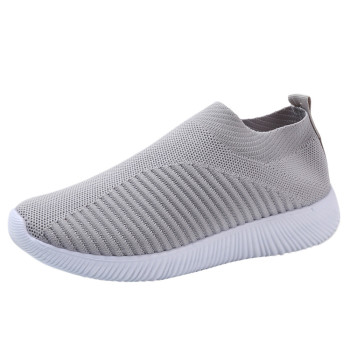 Women's Outdoor Mesh Shoes Casual Non-slip Comfortable Flat Running Sneaker Cover Penetrating Low-top Shoes 9