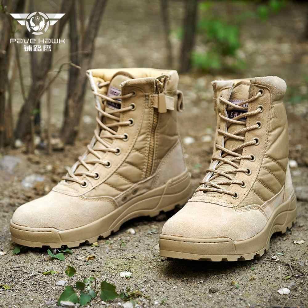 SWAT Sneakers Desert Tactische Militaire Laarzen Mannen Speciale Kracht Uniform Werk Veiligheidsschoenen Leger Boot Rits Combat Laarzen Vrouwen
