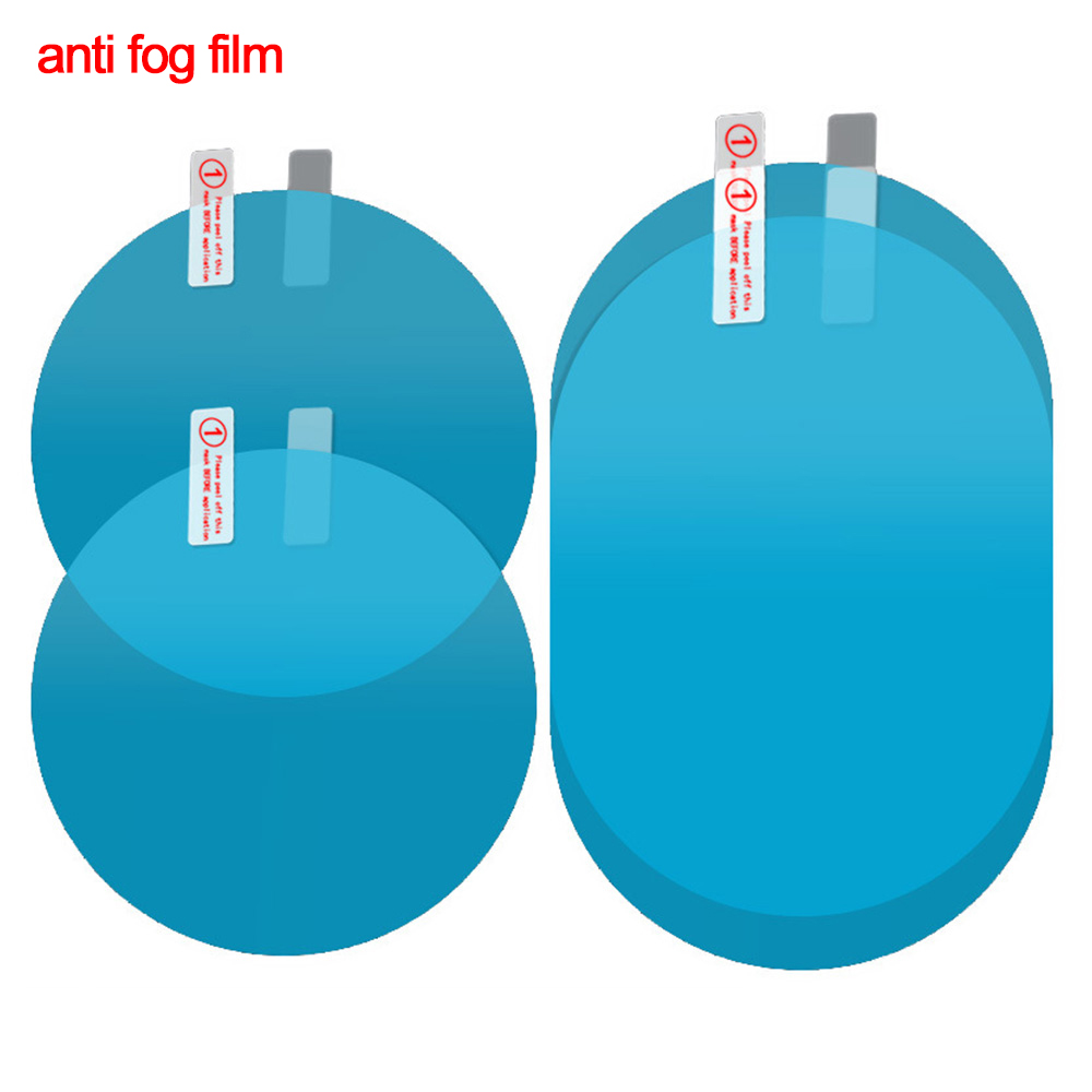 2Pcs Waterproof Nano Stickers Car Rear View Mirror Protective Film Anti-fog Window Clear Rainproof Rearview Mirror 2019 Oc26