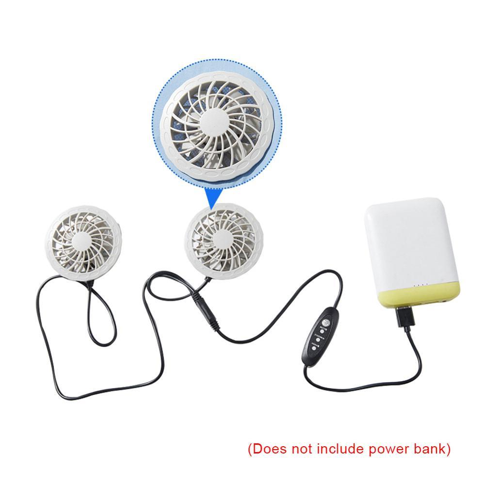 Мужчина умный вентилятор охлаждения USB зарядка одежда Одежда для сварки одежда охлаждения вентилятор кондиционер одежда жилет открытый жилет