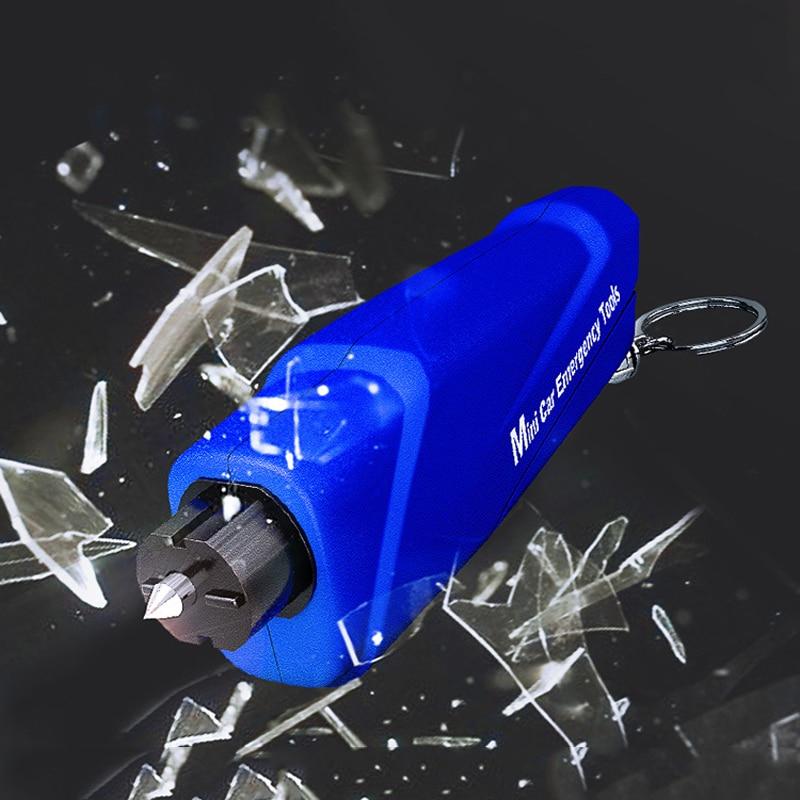 Car Multi-Function Car Safety Hammer Portable Window Breaker Escape Device title=