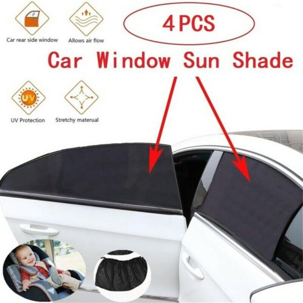 4pcs Car Window Sunshade Cover Block