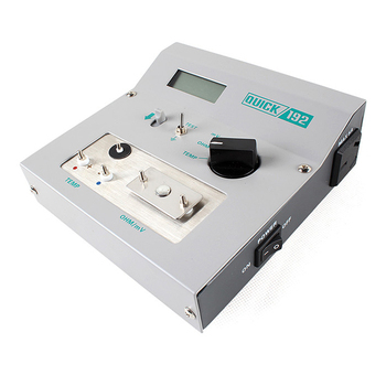 QUICK-192 Tip temperature tester Voltage resistance of welding station to ground Impedance Meter Thermometer