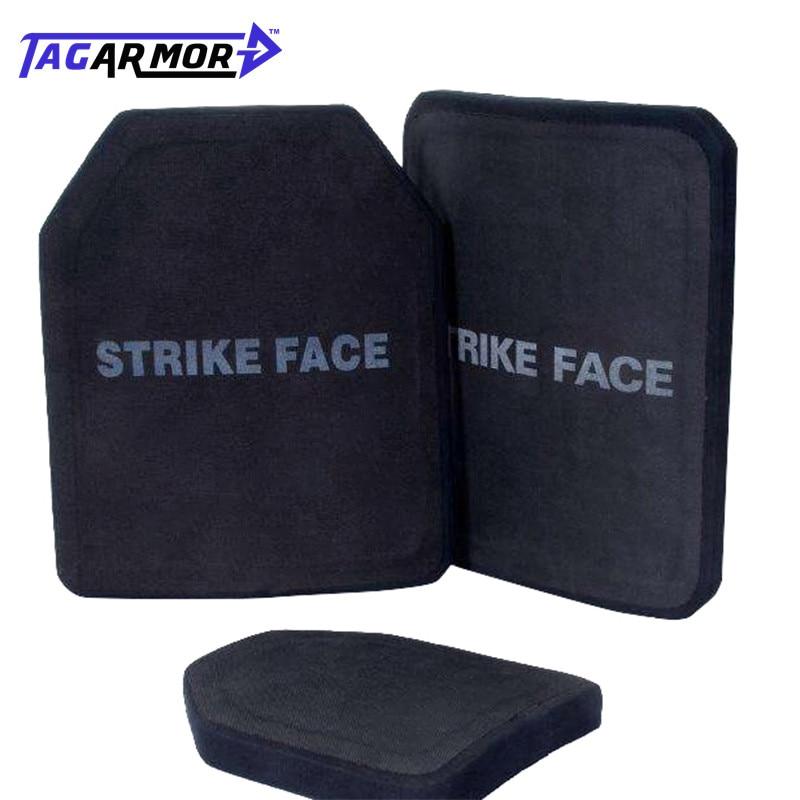 Military Army Police Security NIJ Level IV ICW Ceramic Body Armor Bulletproof Vest Plate Ballistic Armor Plate