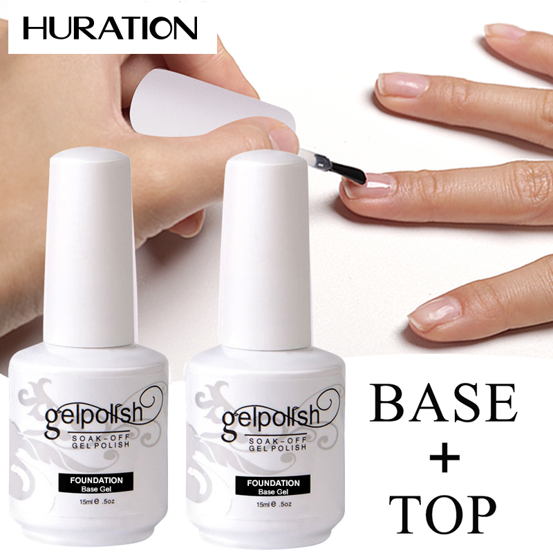 Beauty Base Topcoat UV Gel For Nails Long-lasting Foundation Base Gel Nail Polish Nail Primer Semi-permanent Nail Polish Topcoat