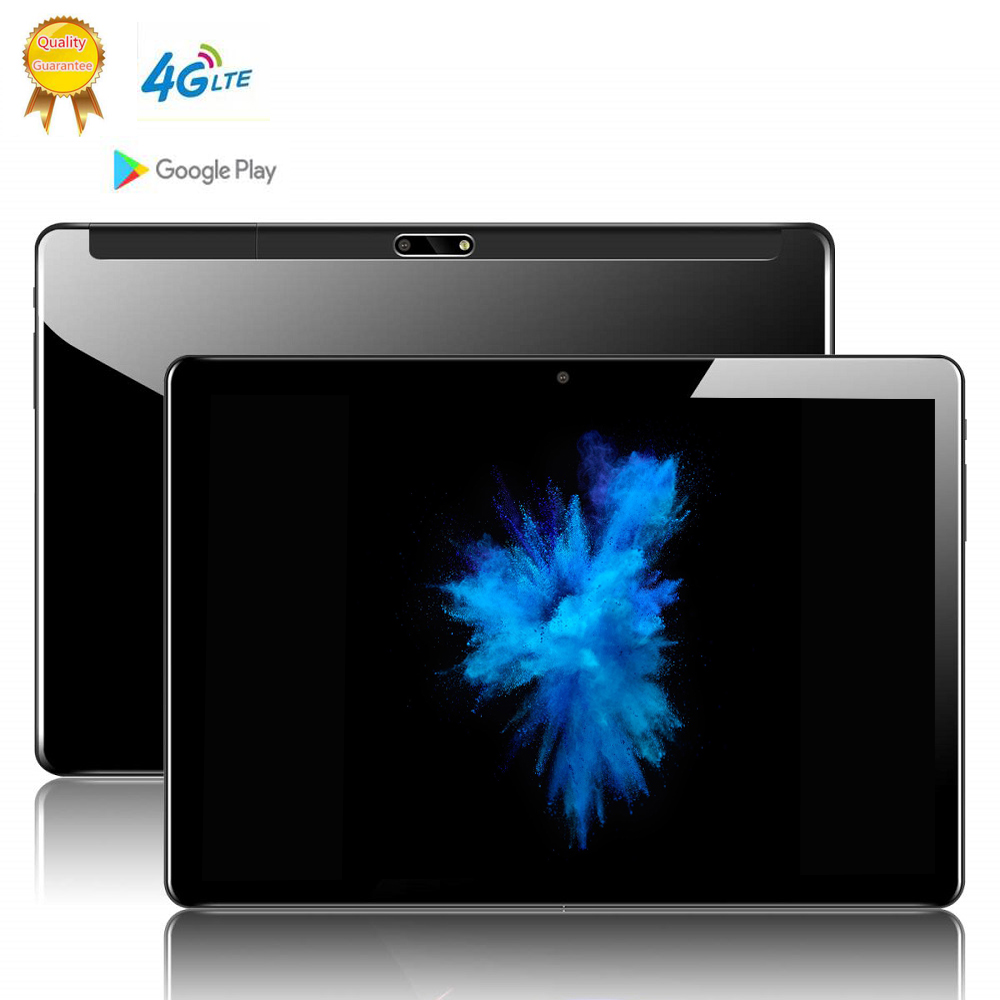 64Gb Laptop IPS Glass Screen 10.1 Inch 2.5d Screen Android 9.0 Tablet Pc 8 Octa Core 6GB RAM 4g Lte  8MP Camera Tablets Phone
