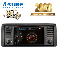 A Sure 7 Inch 2 Din 16G Auto Radio Car Multimedia GPS Navigation DVD Player For BMW E39 X5 E53 M5 318 320 328 BT RDS SWC DAB