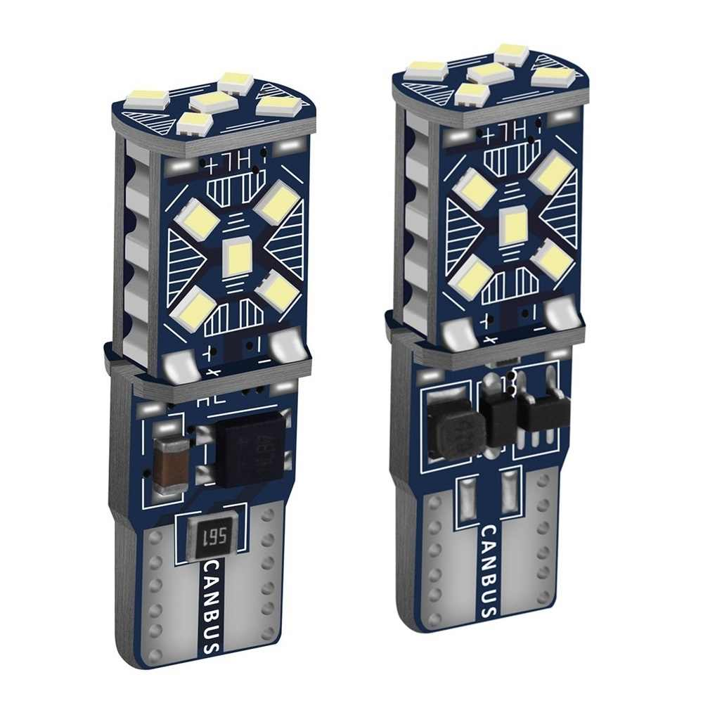 2PCS T10 W5W Baru Super Bright LED Mobil Parkir Lampu WY5W 168 501 2825 Auto Baji Turn Sisi Lampu mobil Interior Membaca Lampu Dome