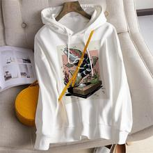 цена на YOUQIJIA 2019 Harajuku Hoodie Solid Color Long Sleeve Hoodie Fall Casual Kangaroo Pocket Sweatshirt Women
