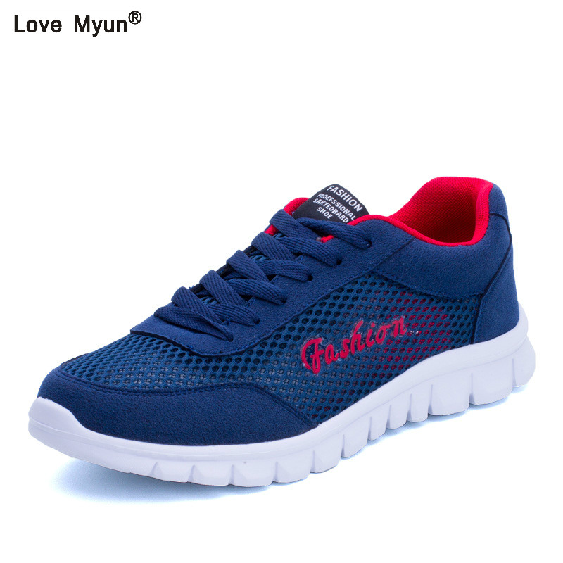 2019 nouvelle mode hommes chaussures décontractées, hommes chaussures plates hommes respirant taille de chaussures décontractées lovers EUR
