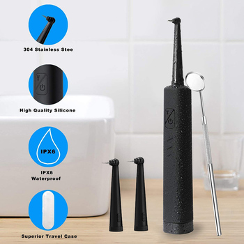 Tooth Calculus Remover Electric Sonic Dental Scaler dental tartar cleaner Cleaning Tooth Stains Tartar tool tooth whiten machin high quality long tip dental scaler spoon tooth cleaning excavator restorative instruments spoon tool