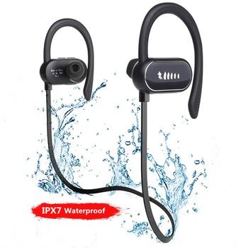 Wirless Sport Waterproof Neckband Earphones Head Phones Earbuds Headset Earpiece With Microphone For Cellphone Iphone Gamer Ps4