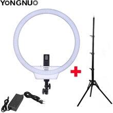 Yongnuo YN608 Selfie Anello di Luce 3200K ~ 5500K Bi Colore di Temperatura a Distanza Senza Fili Ha Condotto La Luce Video Cri> 95 con Impugnatura