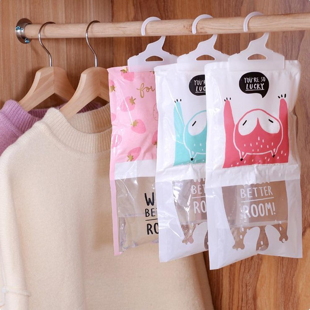 Practical Hangable Wardrobe Moisture-proof Dehumidifier Wardrobe Closet Mold Moisture-absorbing Bag Desiccant Bags Home Items